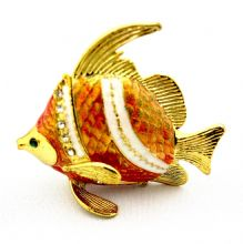 Gold Fish Trinket Box